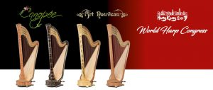 Camac Harps present the 'Canopée' and 'Art Nouveau'