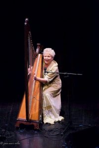 Elinor Bennett performs on the Triple Harp from the private collection of Camac France