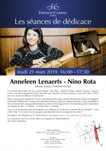 Anneleen Lenaerts: CD signing