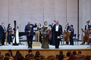 "Ukrainian premier of Patterson's ""Spider's Web"", with Veronika Lemishenko and the Kharkiv Philharmonic"