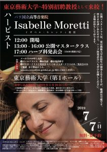 Isabelle Moretti in Tokyo, 2019