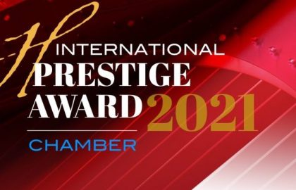 Rave Harps international prestige award